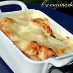 recette Cassolette de patates douces et Roquefort