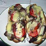 recette Bruschetta à la viande
