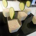 recette verrine concombre thon