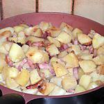recette Patates grillées aux lardons