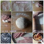 recette Pizza maison (moelleuse) et base de fond tomate. (2)