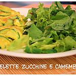 recette Omelette santé avec camembert