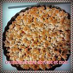 recette crumble fraise abricot et noix