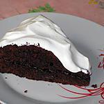 recette Gâteau au chocolat, framboise et à la crème