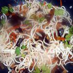 recette Ramen aux légumes