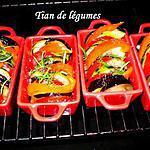 recette Tians de légumes