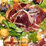 recette Salade de Jambon Bellota de Jabugo