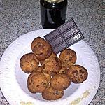 recette ~Biscuits aux amandes, miel et pepites de chocolat~