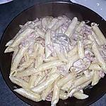 recette pâte carbonara expresse à  ma façon
