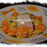recette Curry de poulet aux légumes