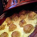 recette Tajine de boulettes de poissons sauce moutarde