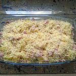 recette Gratin pommes de terre, brocoli et raclette