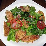 recette Salade au blancs de poulet didine