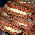 recette Sablés au chocolat et à la crème de coco