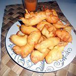 recette Beignet de poulet