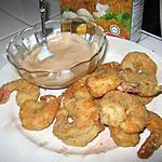 recette Crevettes frites