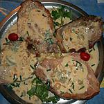 recette Cotes de porc st agur