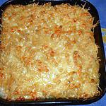 recette Gratin de macaroni au comté