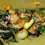 recette Soupe aux courgettes et au basilic