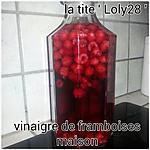 Vinaigre aux framboises maison (61)