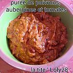 recette Purée de poivrons, aubergines et tomates (66)