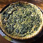 recette Quiche aux épinards et boursin
