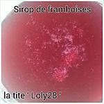 recette Sirop de framboises (63 )