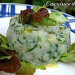 recette Purée pommes de terre et feuilles de chêne