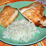 recette Filet de perche du Nil & son riz aux oignons