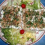 recette Tartine de st morret aux graines de sésames