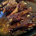 recette Manchons de canard au caramel crémeux