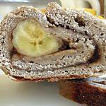 recette Roulé brioché Banane - Pruneau sans lait ni oeuf