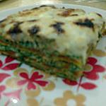 recette lasagnes aux épinards et  à la sauce tomate