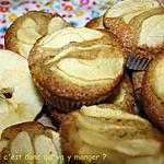 recette Cupcakes pomme cannelle sans gluten et sans lactose