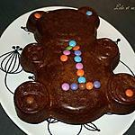 recette Ourson au chocolat praliné
