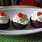 recette Cupcakes forêt noire