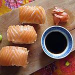 recette Sushis au saumon