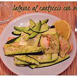 recette Papillotte de saumon avec courgettes