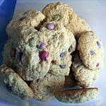 recette cookies au smarties