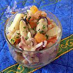 recette Risotto aux fruits de mer en verrine