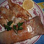 Filet d eglefin et sa galette de sarrasin