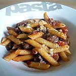 recette Penne à la saucisse et à la tomate