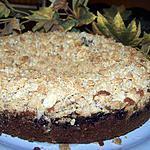 Gâteau à la myrtille