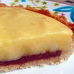 recette Délicieuses tartelettes au citron, avec une touche de praliné