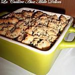 recette Crumble de courgettes & chèvre frais
