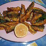 recette Friture de filets de sardines