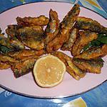 Friture de filets de sardines