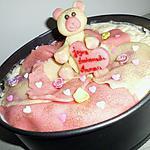 recette Gateau d'anniversaire pour ma mini belle soeur bientot maman d'une petite fille