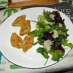 recette Conchiglioni farcis au poulet et petits pois