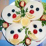 recette TETES  DE   CLOWN  POUR   L'APERO